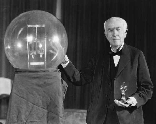 Томас Эдисон – изобретатель лампы накаливания