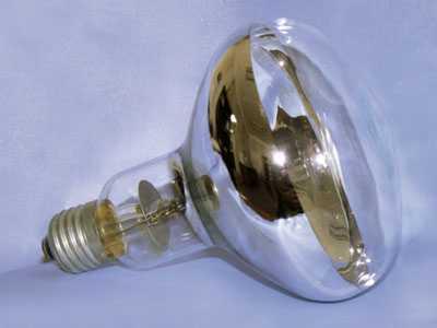 Ламповая колба с отражателем