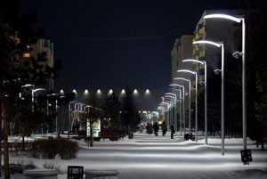 Именно так выглядит современное уличное освещение