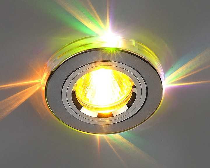 Многоламповый софит с RGB светодиодными лампами