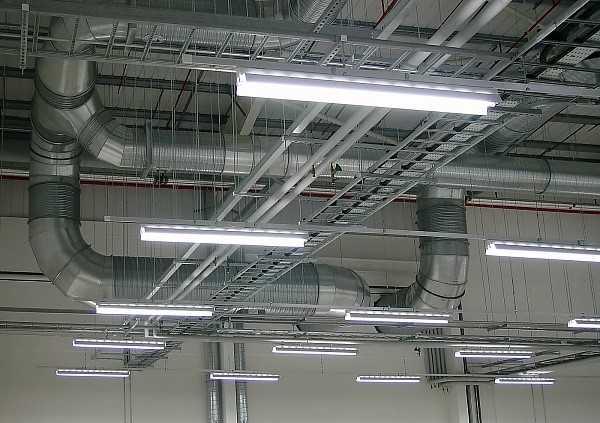 Применение газоразрядных ламп