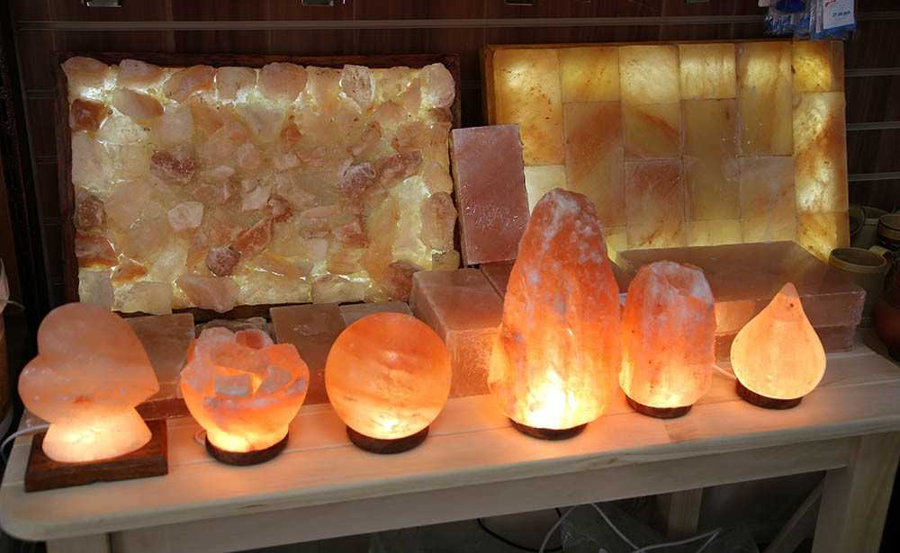 Разновидности форм кристаллов для ламп