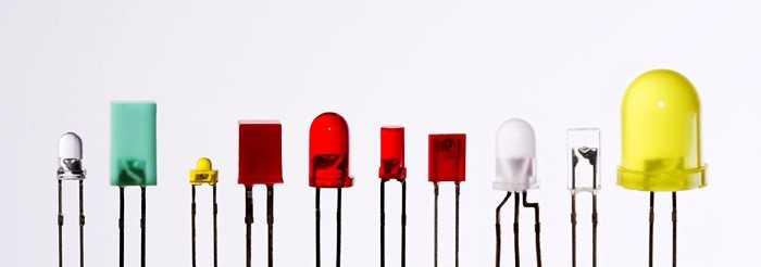 Светодиоды различного спектра